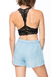 New Mix Racerback Lace Bralette - Front full body