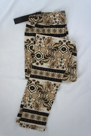 New Mix Scroll Paisley Leggings - Product Mini Image