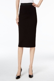 New Mix Scuba Pencil Skirt - Front cropped