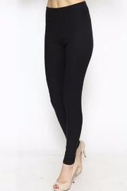 New Mix Solid Color Leggings - Side cropped