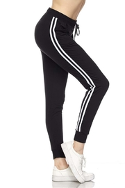 New Mix Stripe Jogger Sweats - Front cropped
