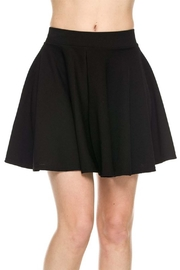 New Mix Textured Skater Skirt - Product Mini Image