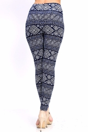 New Mix Tribal Print Leggings - Back cropped