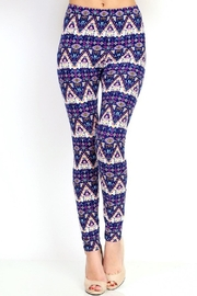 New Mix Tribal2 Multicolor Legging - Product Mini Image