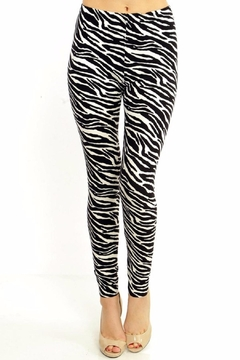 Shoptiques Product: Zebra Print Leggings