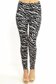 New Mix Zebra Print Leggings - Product Mini Image