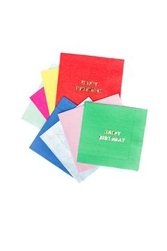 Shoptiques Product: Birthday Luncheon Napkins