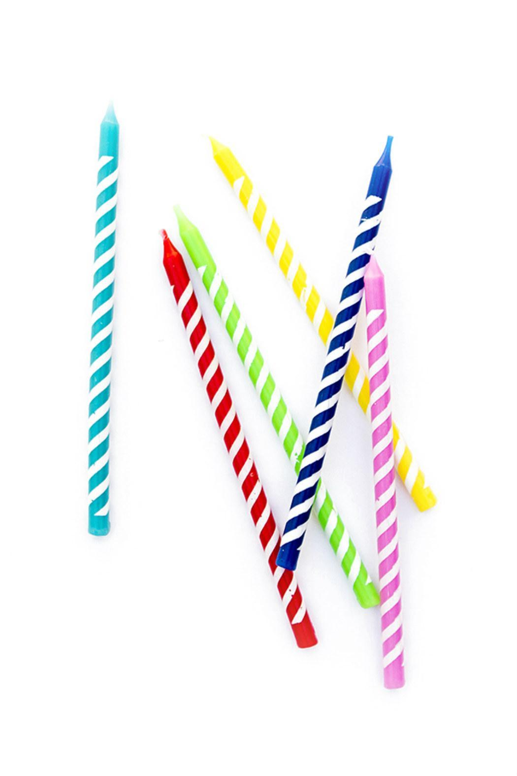New Orientation Multi-Color Birthday Candles - Main Image
