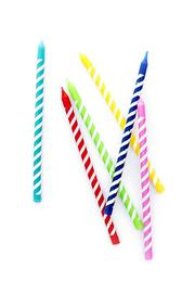 New Orientation Multi-Color Birthday Candles - Product Mini Image