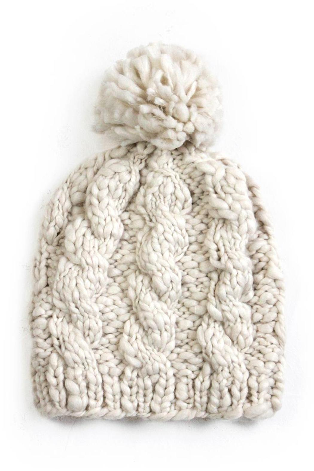 New Prospects Cable Knit Hat from Wisconsin by Edie — Shoptiques 239219cd96b