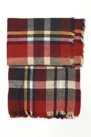New Prospects Tartan Plaid Scarf - Front cropped