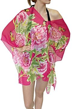New York Collection Pink Peony Top - Product List Image
