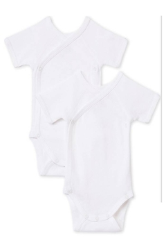 Shoptiques Product: Newborn Babies' Short-Sleeved Bodysuit - 2-Piece Set