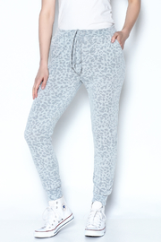 Newbury Kustom Leopard Sweat Pants - Product Mini Image