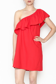 Newbury Kustom One Shoulder Dress - Product Mini Image