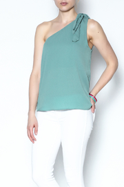 Newbury Kustom One Shoulder Top - Product Mini Image