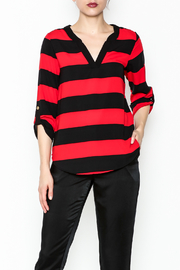 Newbury Kustom Striped Dressy Top - Product Mini Image