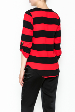 Newbury Kustom Striped Dressy Top - Alternate List Image