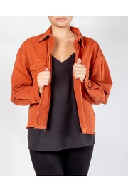 Newbury Kustom Copper Twill Jacket - Product Mini Image