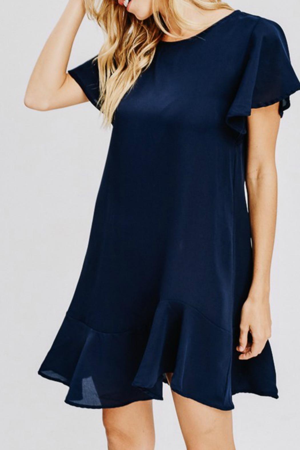 ee:some Newport Blues Dress - Front Full Image