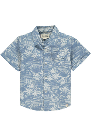 Me & Henry Newport Short Sleeved Surfer Shirt - Product Mini Image