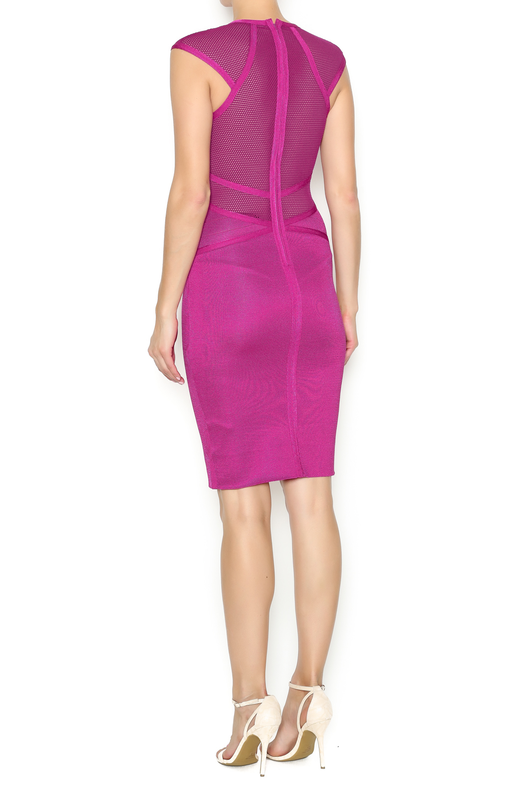 Next boutique pink bodycon dress from new york by next shoptiques Pink fashion and style pink dress