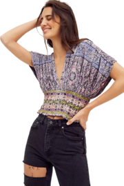 Free People  Next Vacation Top - Product Mini Image