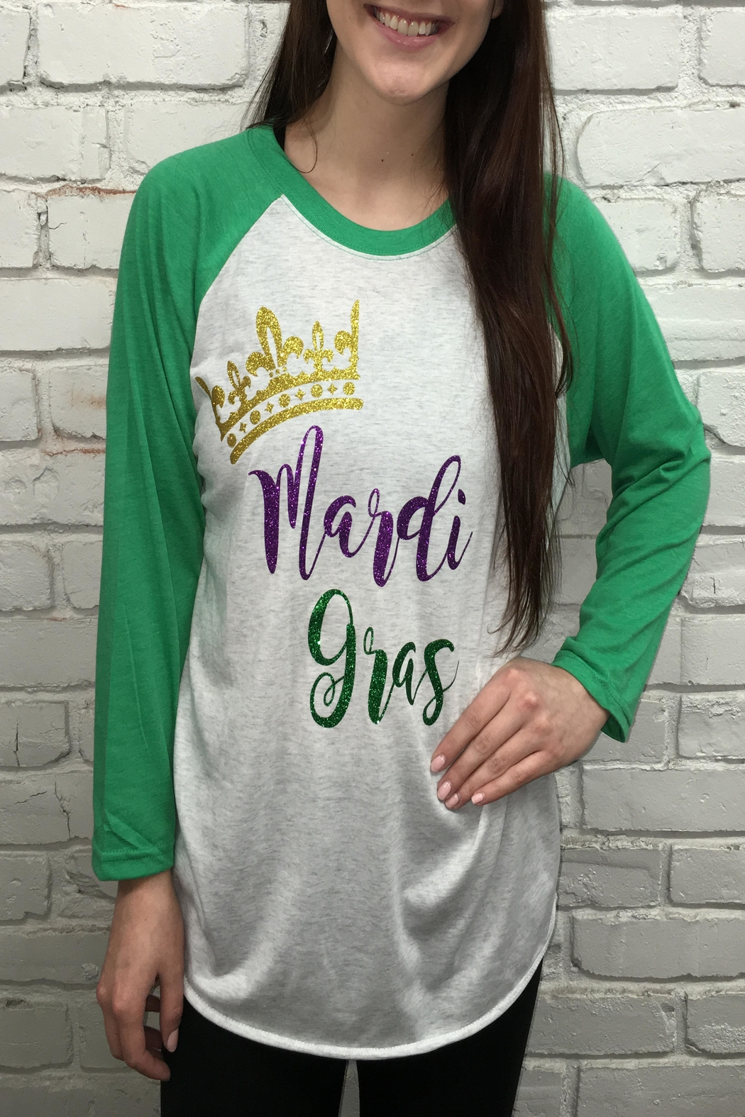 d0239ebc Next Level Mardi Gras Shirt from Louisiana by Sanctuary Home And ...