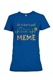 Next Level Meme Live-Love-Spoil T-Shirt - Product Mini Image