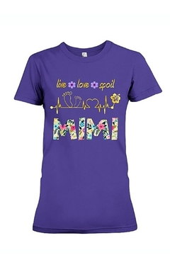 Next Level Mimi Live-Love-Spoil Tee - Product List Image