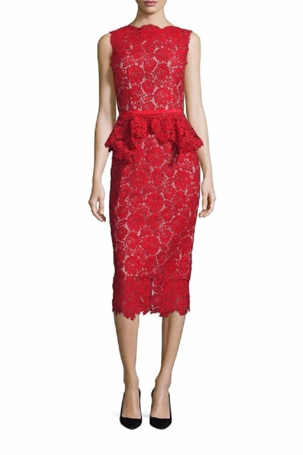 Nha Khanh Lace Sheath Dress - Front Cropped Image