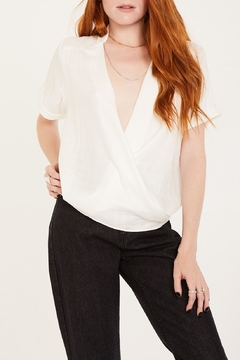 Shoptiques Product: Nia White Shirt