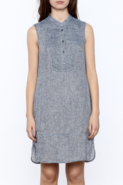 Shoptiques Product: Sleeveless Linen Dress - Side cropped