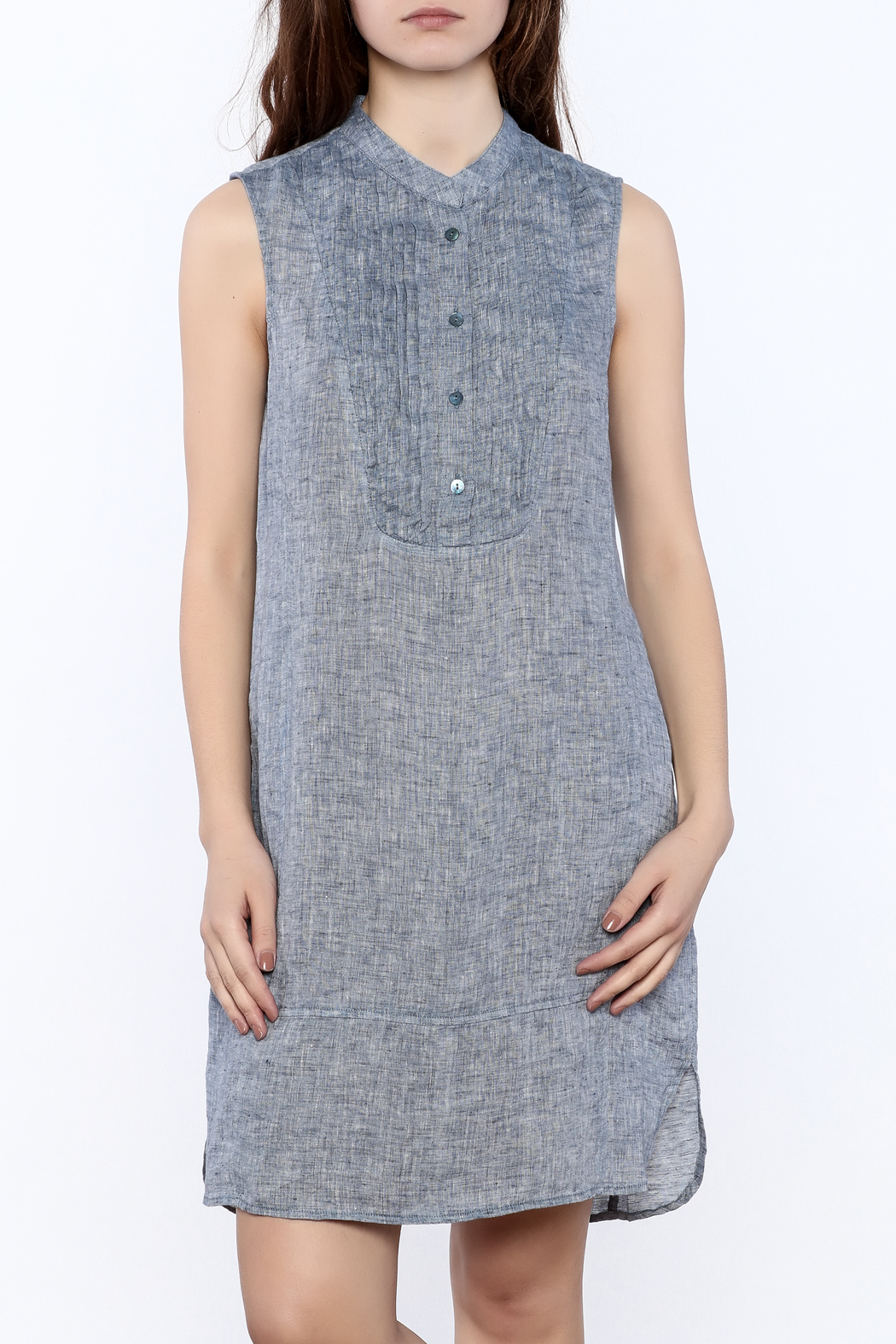 Nic + Zoe Sleeveless Linen Dress - Main Image