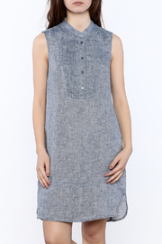 Nic + Zoe Sleeveless Linen Dress - Front cropped