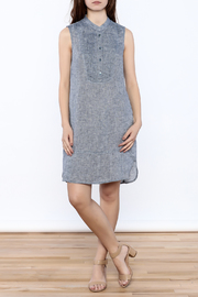 Nic + Zoe Sleeveless Linen Dress - Front full body
