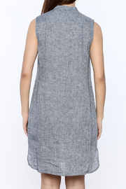 Nic + Zoe Sleeveless Linen Dress - Back cropped