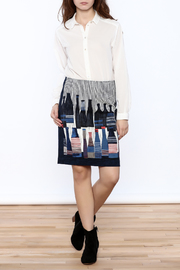 Shoptiques Product: Spring Bottles Skirt - Front full body