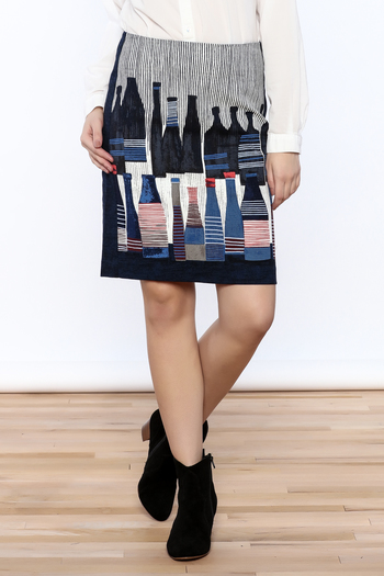 Shoptiques Product: Spring Bottles Skirt - main