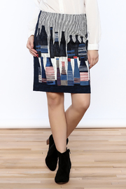 Shoptiques Product: Spring Bottles Skirt - Front cropped