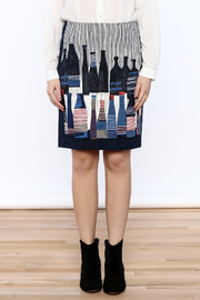 Shoptiques Product: Spring Bottles Skirt - Side cropped