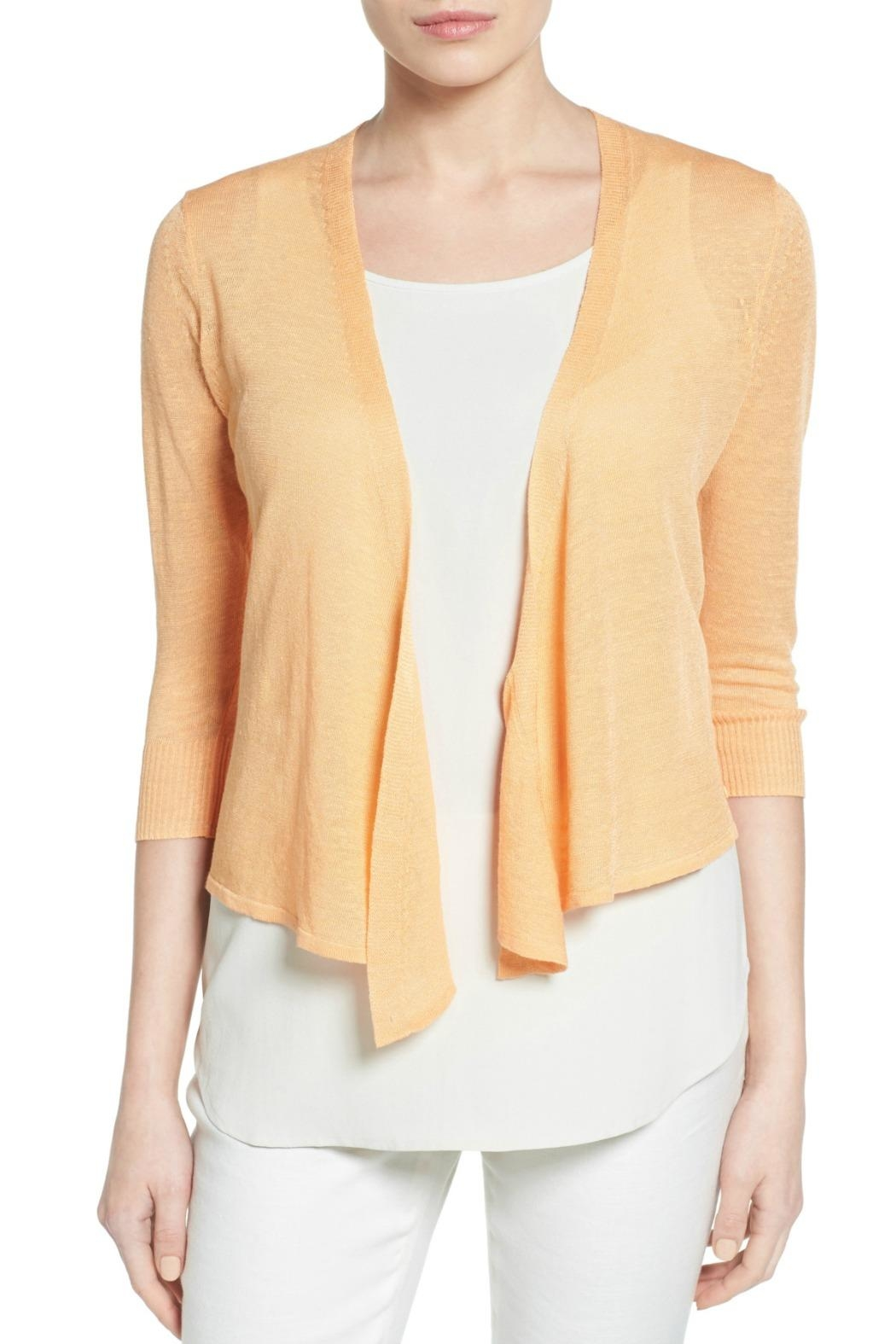 Nic + Zoe 4 Way Cardigan - Front Cropped Image