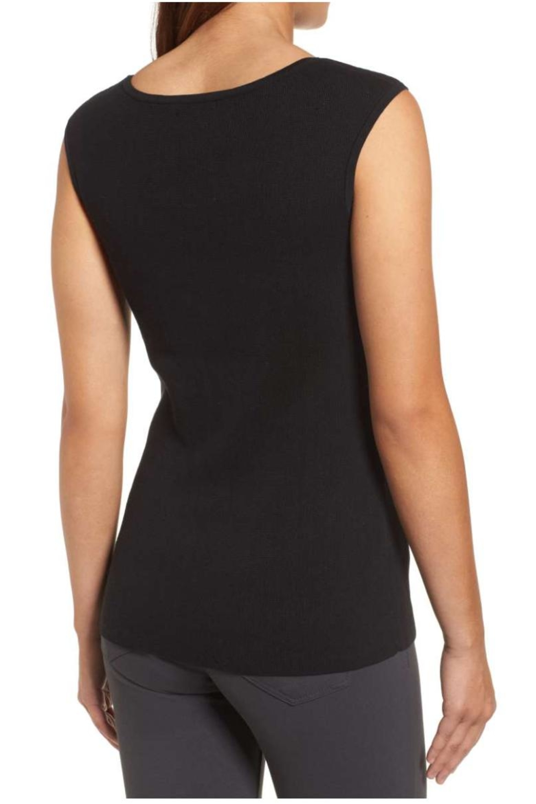 Nic + Zoe Aurora Sweater Tank Top - Front Full Image