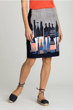 Shoptiques Product: Bottle Print Skirt
