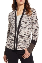 Nic + Zoe Contempory Cotton-Blend Cardigan - Front cropped