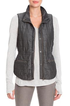 Shoptiques Product: Denim Puffer Vest