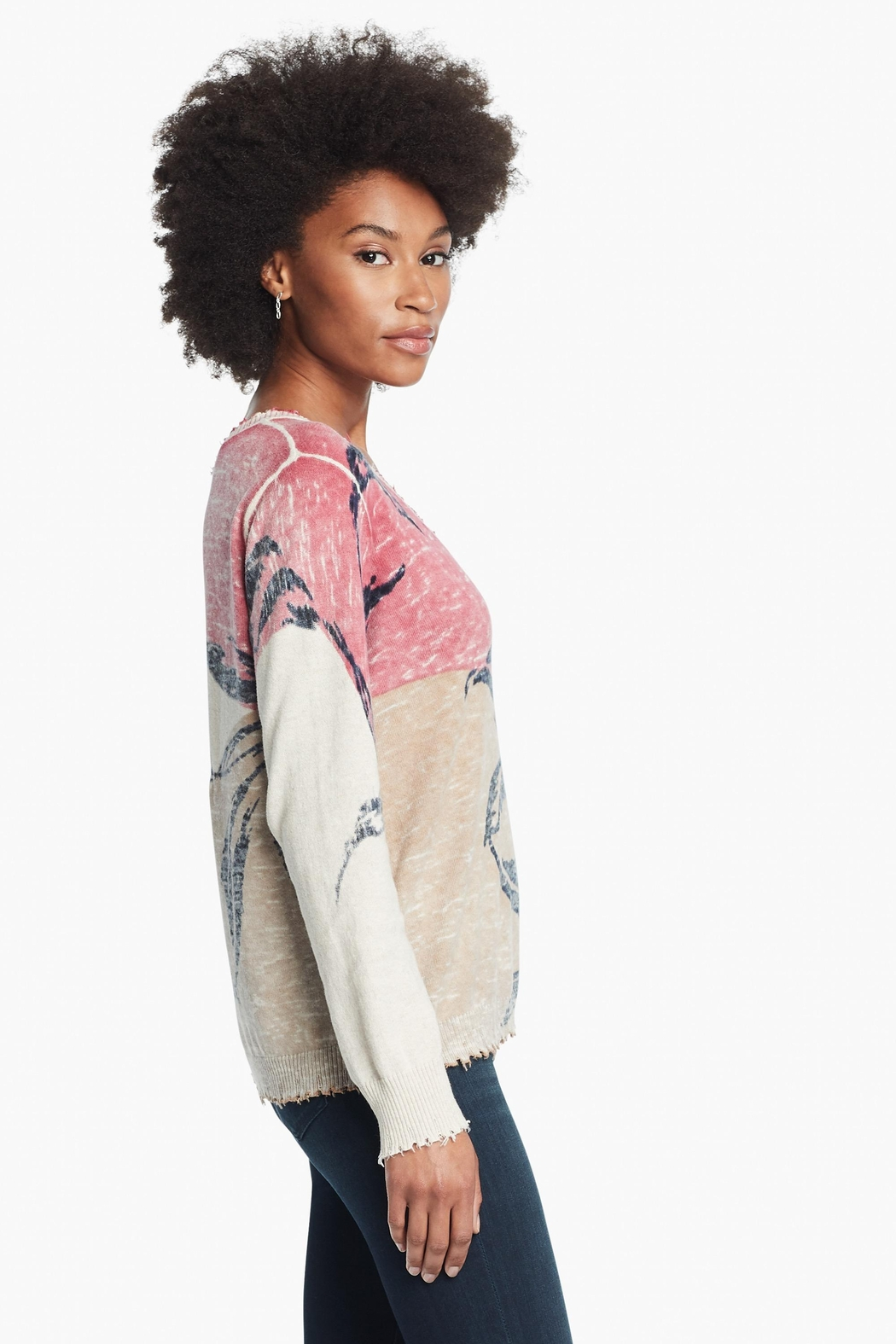 Nic + Zoe Easy Day Sweater - Front Full Image