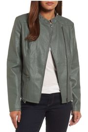 Nic + Zoe Faux Leather Jacket - Product Mini Image