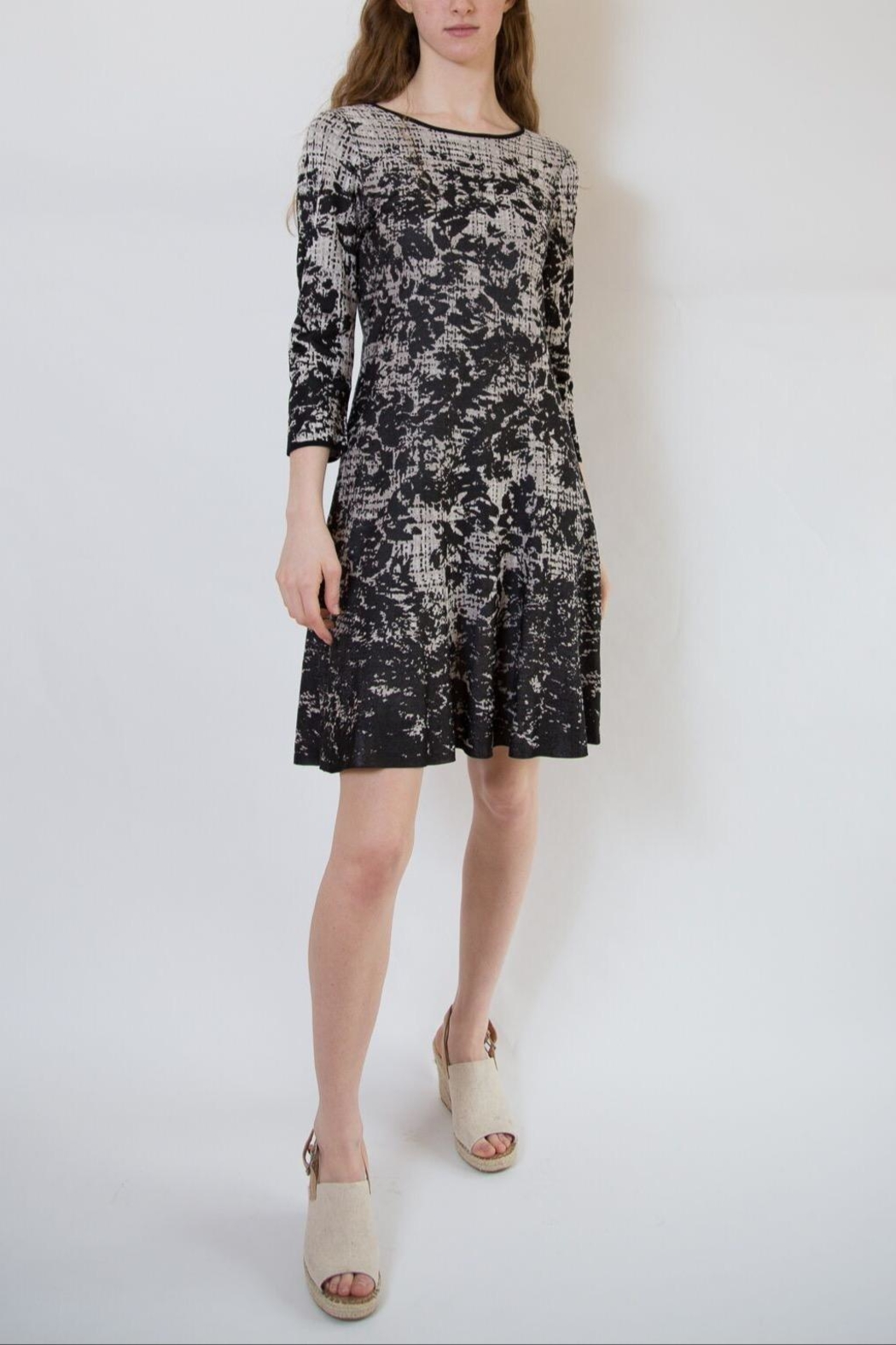 Nic + Zoe Fit & Flare Dress - Front Full Image