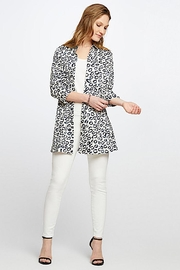 Nic + Zoe Animal Print Shirt/jacket - Product Mini Image